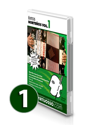 Curso de acordeón y éxitos norteños volumen 1