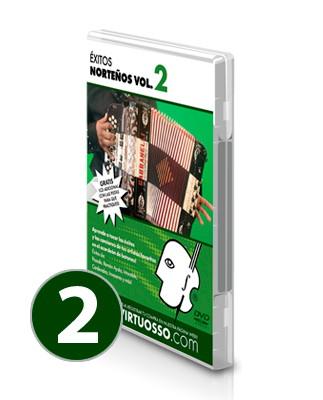 Curso de acordeón y éxitos norteños volumen 2
