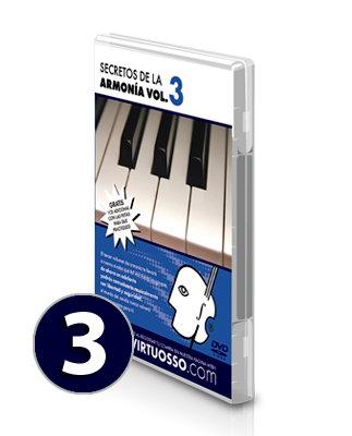 Curso de armonía y teoría musical volumen 3