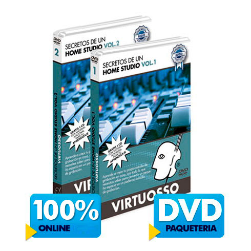 Cómo armar un Home Studio disponible online y DVD