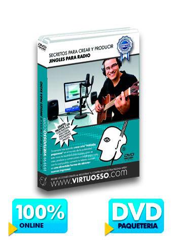 Curso de jingles para radio disponible online y DVD