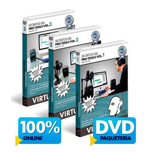 Curso de Pro Tools disponible online y DVD