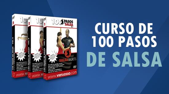 curso 100 pasos de salsa aprende a bailar salsa