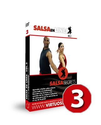Curso de Salsa en Línea volumen 3