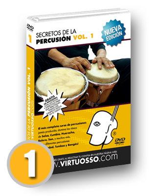 Curso de percusiones volumen 1