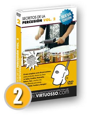 Curso de percusiones volumen 2