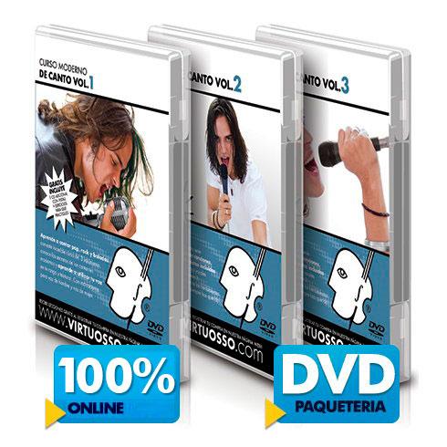 Curso de canto disponible online y DVD
