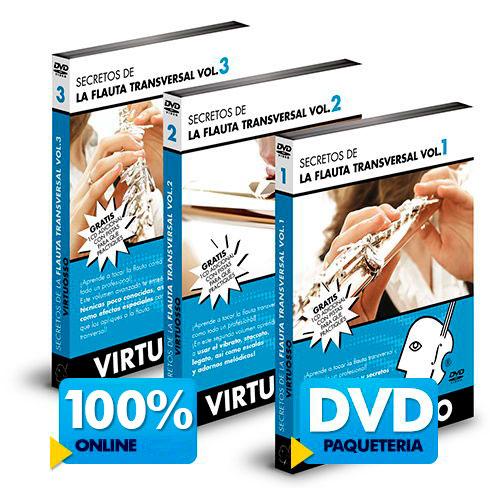 Curso de Flauta Transversal disponible online y DVD