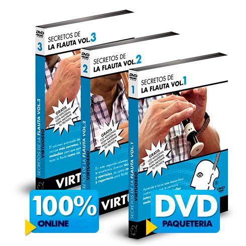 Curso de flauta disponible online y en DVD