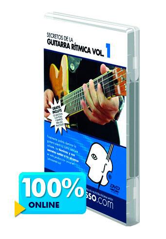 Curso de guitarra rítmica disponible online