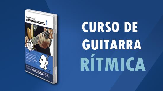 curso de guitarra rítmica aprende a tocar la guitarra