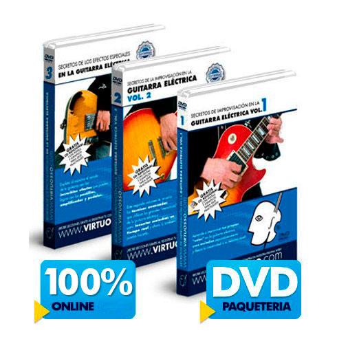 Curso de improvisación en la guitarra disponible online y DVD