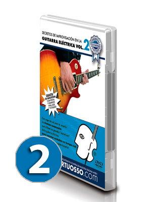curso de improvisación en la guitarra volumen 2