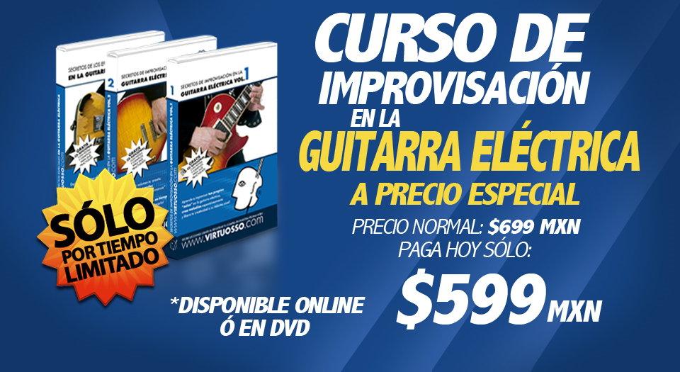 Curso de improvisación en la guitarra