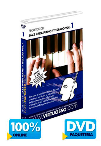 Curso de jazz para piano | Teclado jazz disponible online y DVD