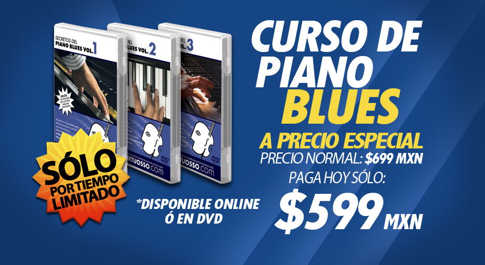 Curso de piano blues