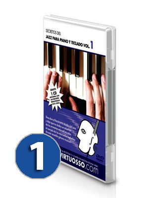 Curso de piano jazz, salsa, blues volumen 1