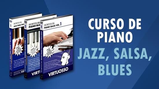 curso de piano jazz, salsa y blues aprende a tocar el piano
