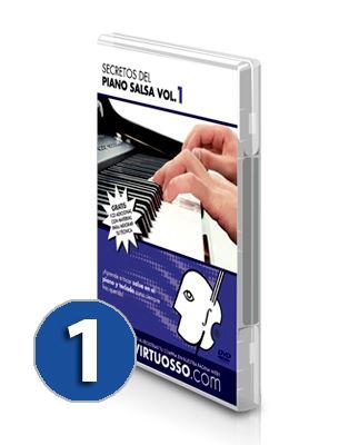 Curso de piano salsa | teclado latino volumen 1