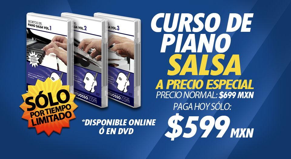 Curso de piano salsa | teclado latino