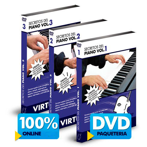 Curso de Piano disponible online y DVD