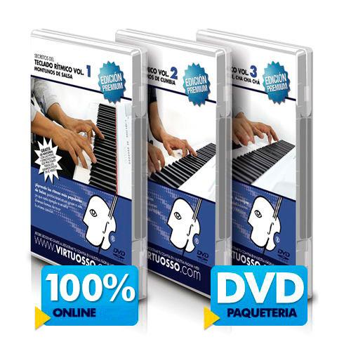 Curso de teclado rítmico disponible online y DVD