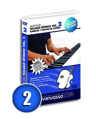 Curso de teclado rítmico volumen 2