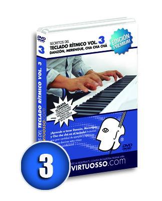 Curso de teclado rítmico volumen 3
