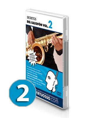 Curso de saxofón volumen 2