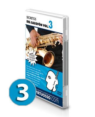 Curso de saxofón volumen 3