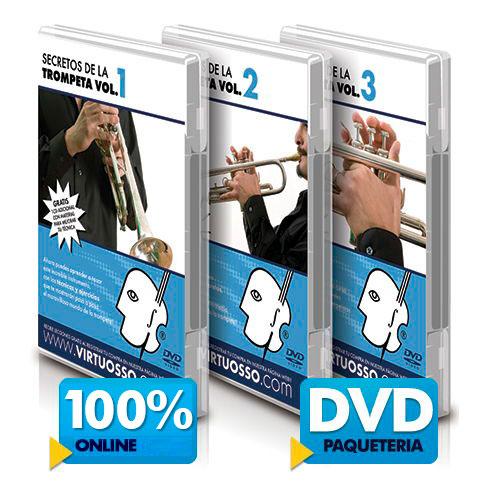 Curso de trompeta disponible online y DVD