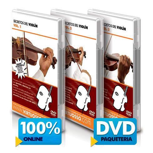 Curso de violín disponible online y DVD