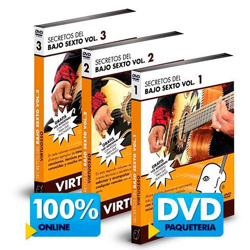 Curso de bajo sexto diponible online y DVD