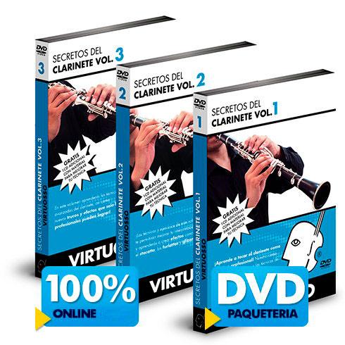 Curso de clarinete disponible online y DVD