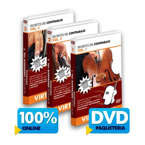 Curso de Contrabajo disponible online y DVD